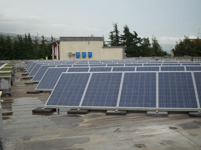 Impianto da 20 Kw parzialmente integrato realizzato a Giarre nella provincia di Catania